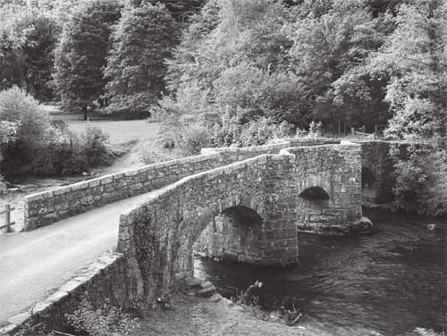 Fingle Bridge on Dartmoor