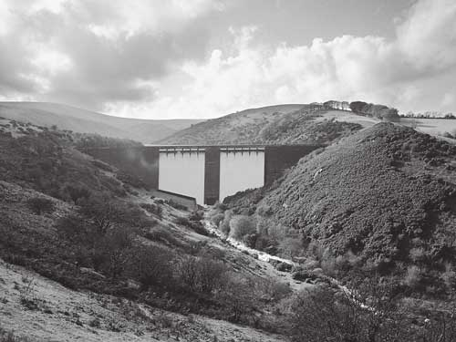 Meldon Reservoir from the dam